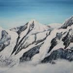 """Eiger Monch and Jungfrau"" by ArtByJanVinclair"
