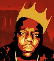 Notorious B.I.G. Pop Art