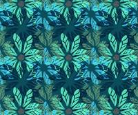 Blue Flower Prints
