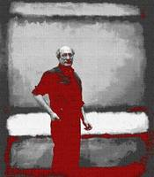 ROTHKO IN RED AND GREY