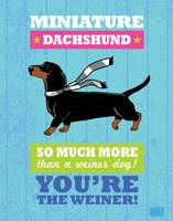 Dachshund2 Blue/Green