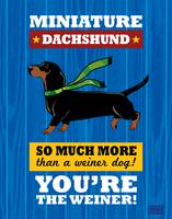 Dachshund2 Royal/Red
