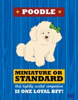 Poodle2 Royal/Red