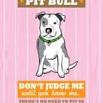 """Pit Bull2 Pink/Orange"" by Nose2Tales"