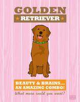 Golden Retriever Pink/Orange