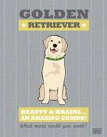 Golden Retriever2 Gray/Gold