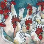 """Chicken-Hearted"" by schulmanart"