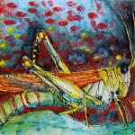 """Swarming Locusts"" by schulmanart"