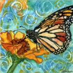 """Summer Butterfly Swirls II"" by schulmanart"
