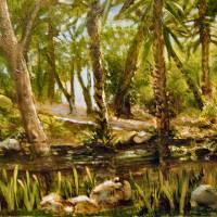 Florida Botanical Gardens Art Prints & Posters by Arlen Avernian Thorensen
