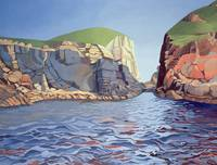 Land and Sea No. I, Ramsey Island byAnna Teasdale