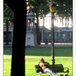 """City Park Nap"" by CuriousEye"