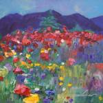 """""Mountain Poppies"""" by jacquelinebrewerart"