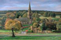 Edensor, Chatsworth Park, Derbyshire by Trevor Nea