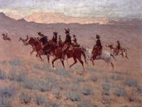 The Cowpunchers by Frederic Remington