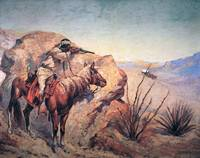 Apache Ambush by Frederic Remington