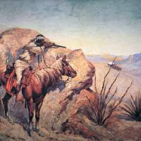 """Apache Ambush by Frederic Remington"" by The Fine Art Masters"