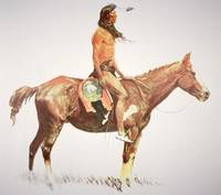 A Cheyenne Brave by Frederic Remington