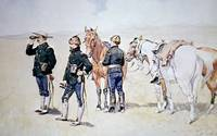 Cavalry Scouts by Frederic Remington