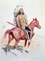 Sioux Chief by Frederic Remington