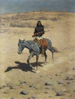 Apache Scout by Frederic Remington