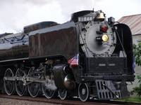 The UPRR 844 Steam Locomotive in Topeka!