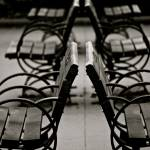 """Park Benches"" by raetucker"