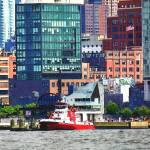 """New York Fire Boat"" by susansartgallery"