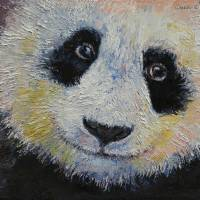 """Panda Smile"" by Michael Creese"