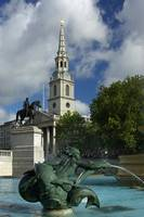 Trafalgar Square and St Martin-in-the-Fields Churc