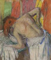 Woman washing her back by Edgar Degas