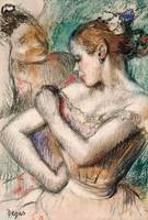 Dancer, 1896 (pastel on paper laid down on board)