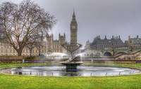 HDR_Big Ben Fountain 1
