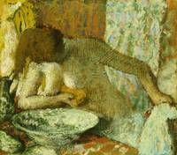 Woman at her Toilet, c.1897 (pastel on paper)