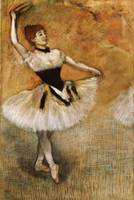 Dancer with Tambourine, 1882 (pastel on paper)