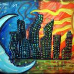 """Celestial City"" by ArtPrints"