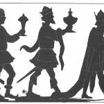 """""""Silhouette of the Three Kings"""" by fineartmasters"""