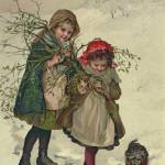 """Illustration from Christmas Tree Fairy, pub. 1886"" by fineartmasters"