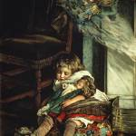 """""""Children dreaming of toys, frontispiece of"""