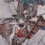 """""""Christmas illustrations, from"""