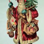 """Father Christmas and toys, illustration"" by fineartmasters"