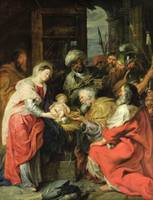 Adoration of the Magi, 1626-29 (oil canvas)