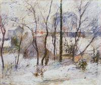 Garden under Snow, 1879 Have I Sue (Winter Snow Sc