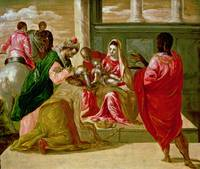 The Adoration of the Magi, 1567-70 (oil on panel)