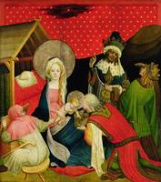 The Adoration of the Magi, panel from the St. Thom