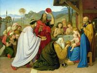 The Adoration of the Kings, 1813 (oil on panel)