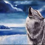 """Lone Wolf"" by peggygarr"