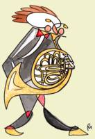 The French Horn Player