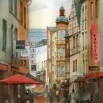 """""""Street in Koblenz"""" by akimas"""