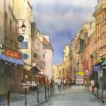 """""""Latin Quarter, Paris"""" by akimas"""